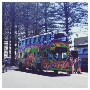 The Nimbin 'Happy' Bus